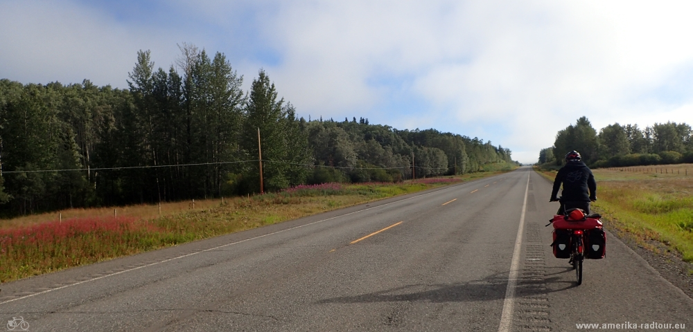 cycling the Yellowhead Highway from Houston to Burns Lake